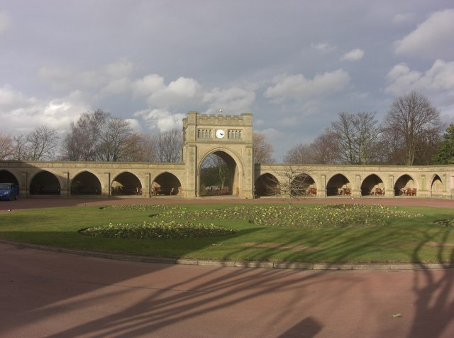 West Road Crematorium - Loggia
