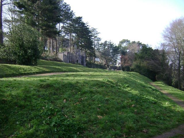 Homeyards Botanic Garden, terraces