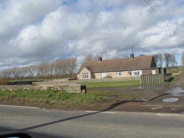 A cottage at Crookham Westfield Farm