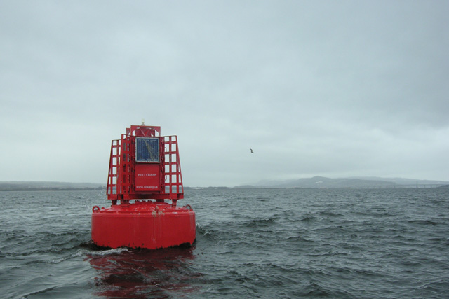 Petty Bank Navigation Buoy, Inverness Firth