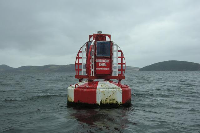 "Munlochy Shoal ""Safe Water"" Navigation Buoy"