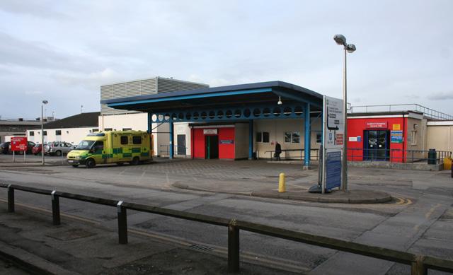 Leighton Hospital: A&E
