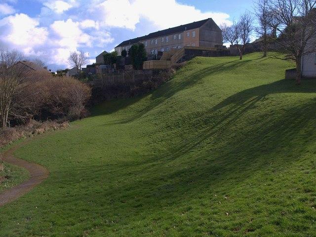 Grass area, Prouse Rise, Saltash