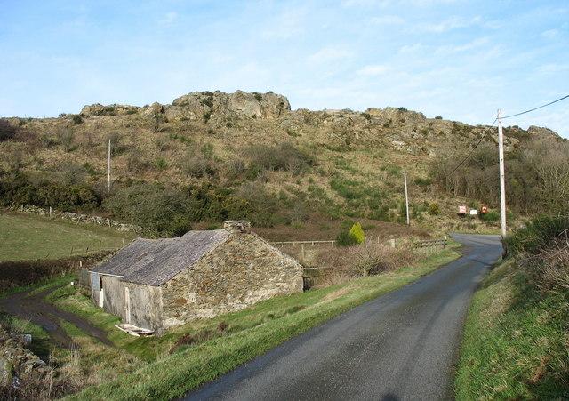 Old cottage below Mynydd Parys