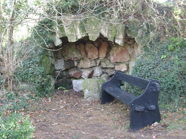 Homeyards Botanic Garden, Grotto