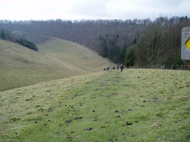 Monarch's Way in Arundel Park