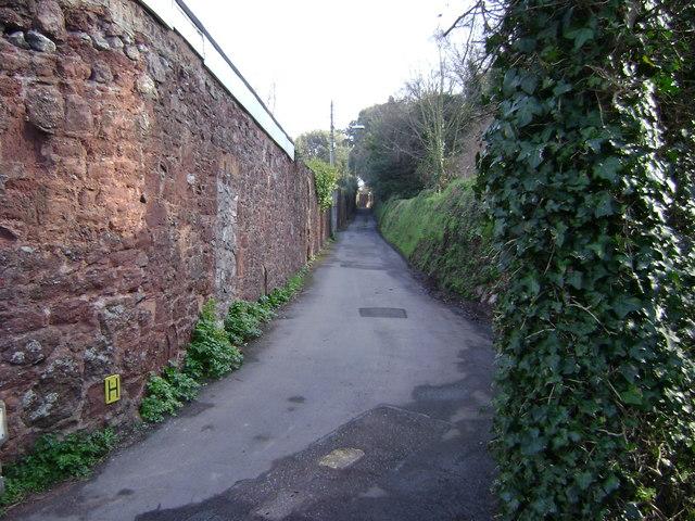 Horse Lane, Shaldon