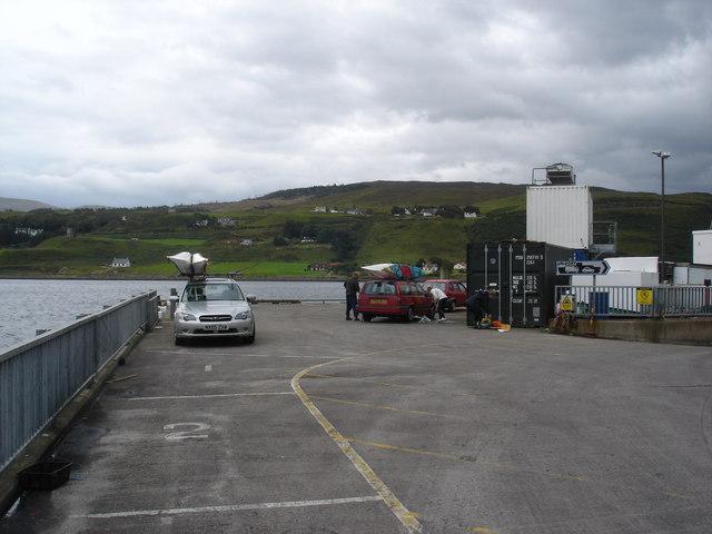 Uig Ferry terminal