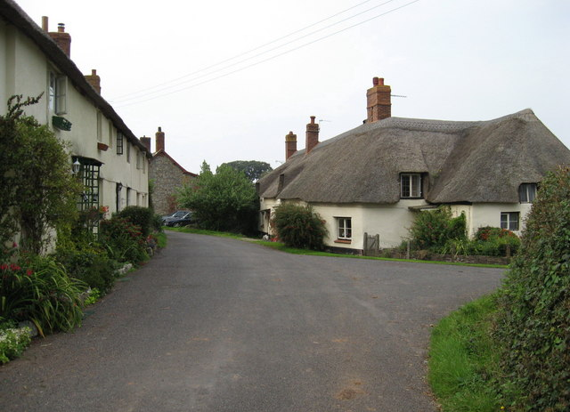The village of East Quantoxhead