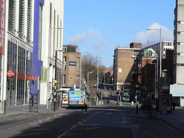 Sunday morning on Milton Street