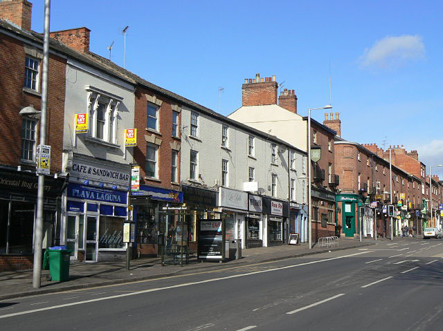 Shops, Mansfield Road