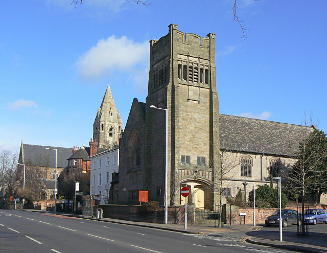 Two churches on Mansfield Road