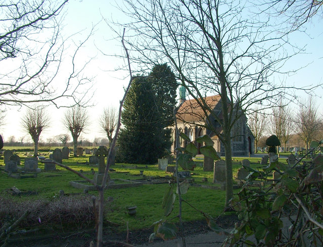 Chapel at Leiston cemetery