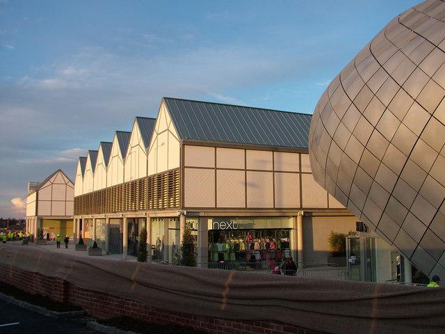 The arc shopping development