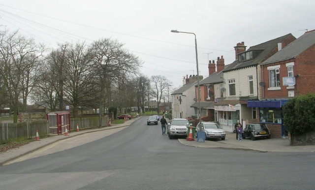 Hall Street - viewed from Wentbridge Road