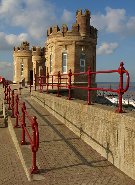 Beachfront Building at Withernsea