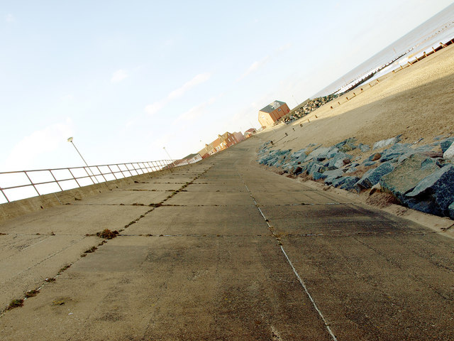 A different perspective of Withernsea Beach