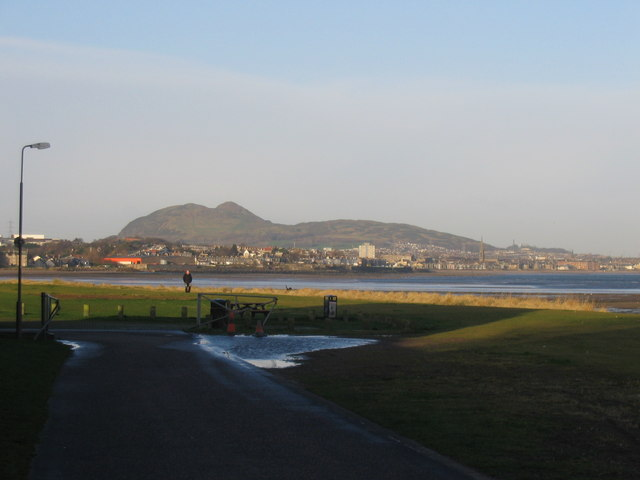 View towards Joppa from Musselburgh
