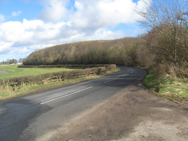 Looking back towards Carham