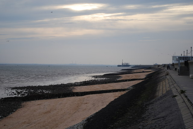 Canvey Island sea wall