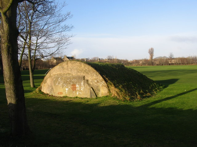 Bunker within Loretto School playing fields