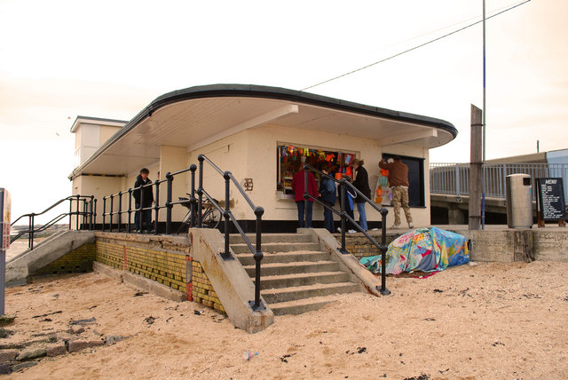 Cafe on Canvey Island front