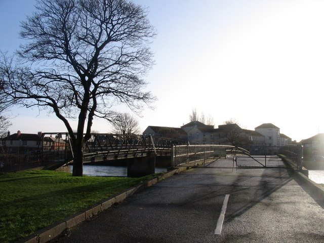 The Electric Bridge at Musselburgh
