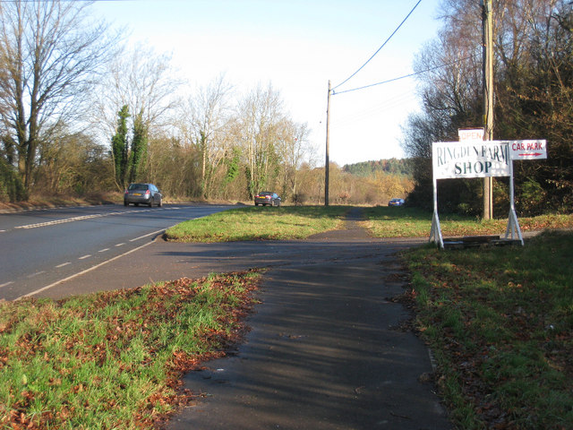 Farmshop Entrance on A21
