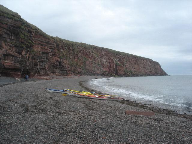 Cliffs south of Fleswick