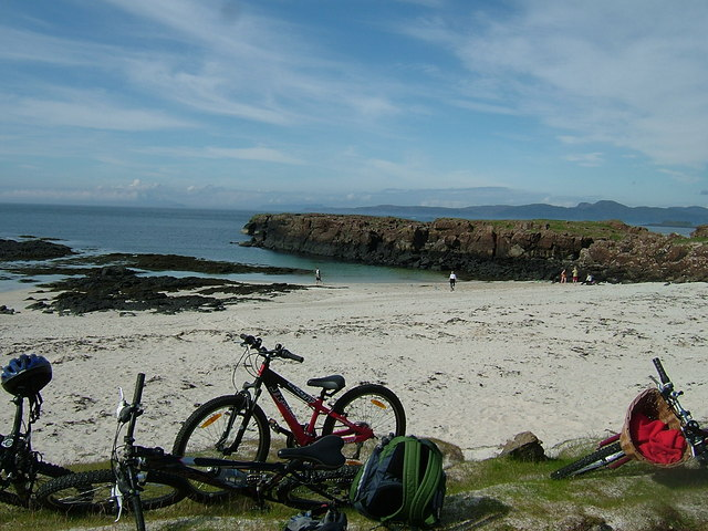 Port na Ba on a fine May afternoon, Ardnamurchan in the distance!