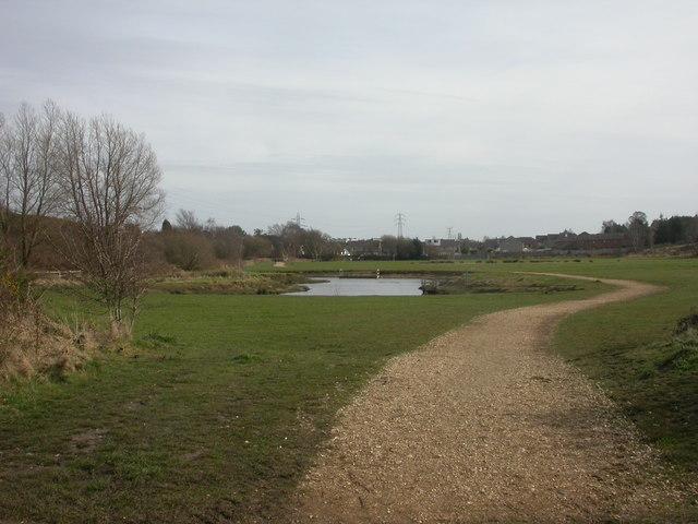 Bourne Valley Park, fishing lake