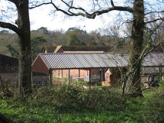 Home Farm near Kingston Lacy