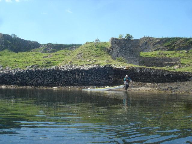 Lime kiln on Eilean nan Caorach