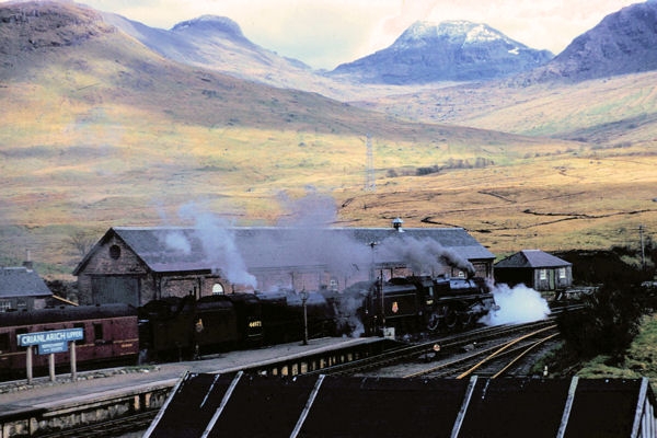 Crianlarich railway station, Easter 1957