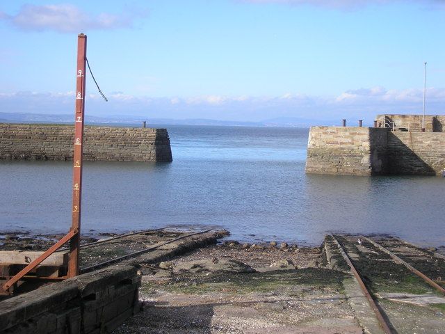 Slipway and harbour entrance