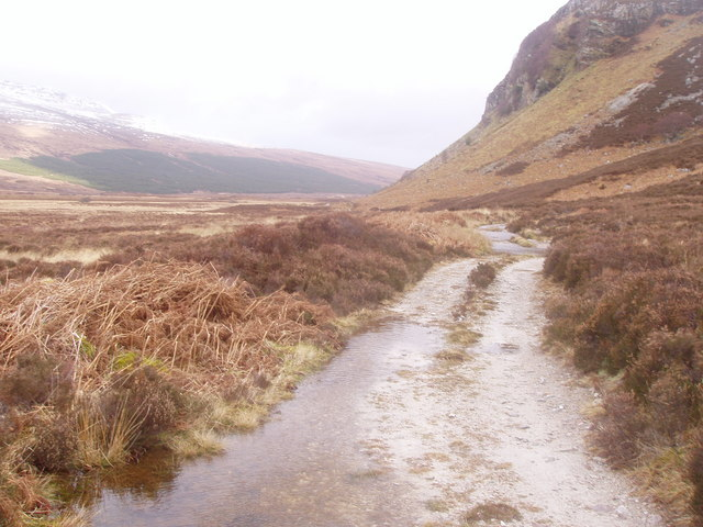 Track from Strabeg bothy to Eriboll