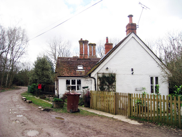 Cottages in Bedgebury Forest