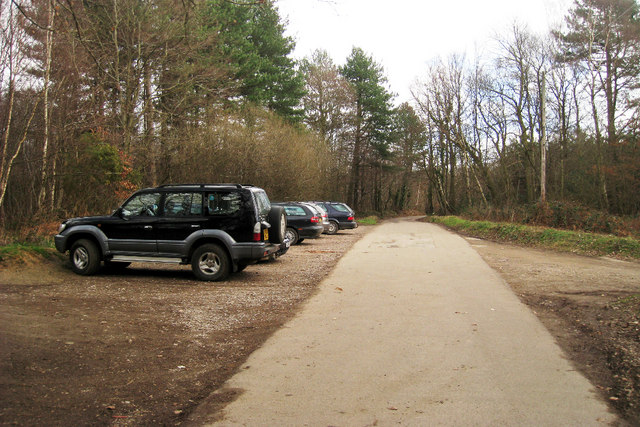 Parking at Bedgebury Forest