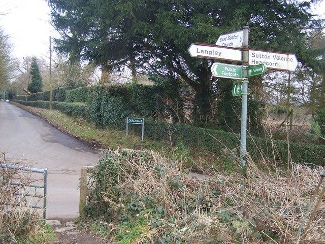 Greensand Way crosses Workhouse Road