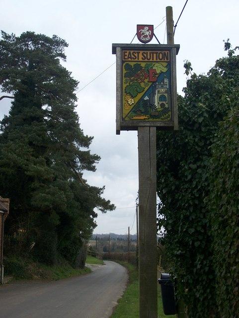 East Sutton Village Sign