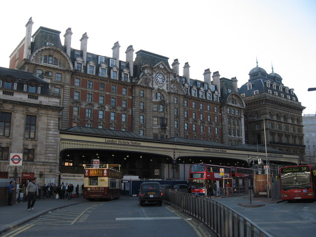Victoria Railway Station, London