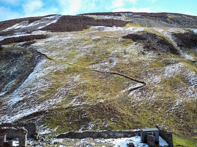 Pathway to Gorton Hush