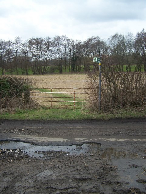 Footpath on Morry Lane