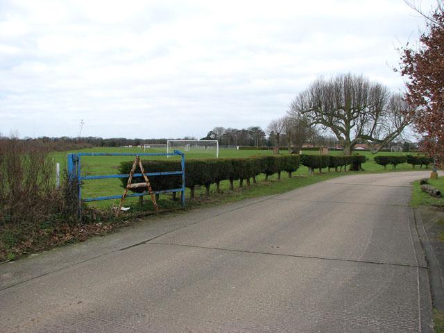 The Anglian Sports & Social Club - football ground