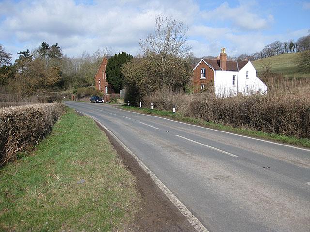 B4224 east of Fownhope