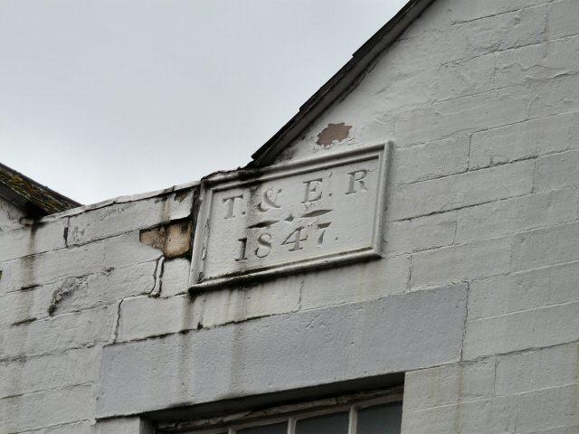 Date Plate on Hamnett Street