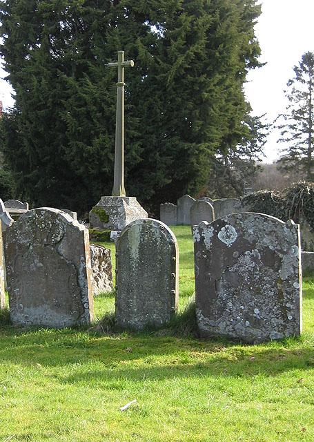 Churchyard cross, St. Mary's, Fownhope
