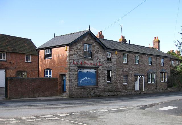 Butcher's shop, Fownhope