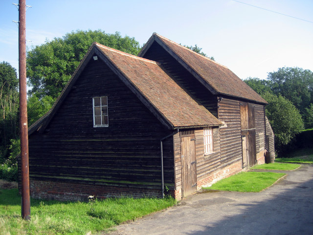 Barn at Tanyard Farm, Hawkhurst, Kent