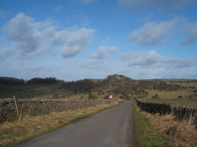Lane outside Brassington